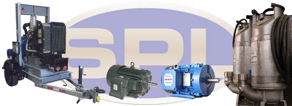 aggregate pump - flow test tank